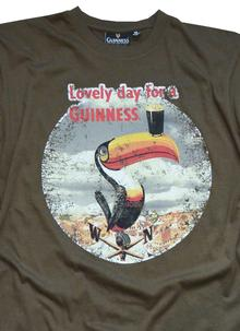 Men's Guinness Toucan Lovely Day T-Shirt