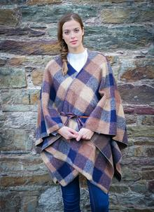 Women's Tweed Wrap Rain