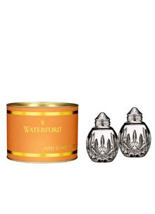 Waterford Crystal Lismore Round Salt & Pepper Set Giftology