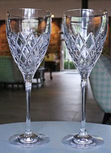Waterford Crystal Crosslake Wine Set of 2