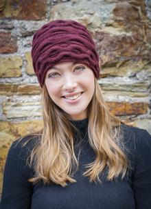 Women's Head Warmer Wine