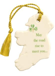 'May The Road Rise To Meet You' Ornament