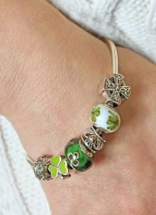 Celtic Shamrock Bead