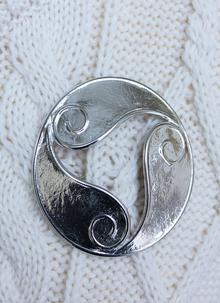 Celtic Triskelle Brooch