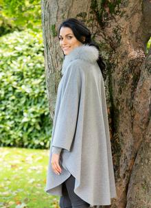 Wool Cashmere Saoirse Cape