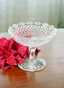 Waterford Crystal Emily 7 Inch Compote