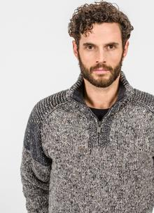 Fisherman Half-Zip Raglan Sweater