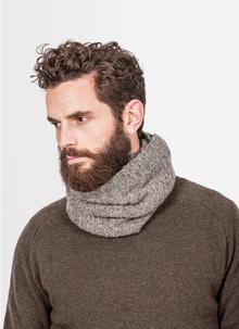 Fisherman Infinity Scarf Smoke