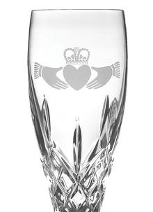 Galway Crystal Claddagh Flute (Pair)