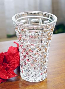 Waterford Crystal Leonora 10 Inch Vase