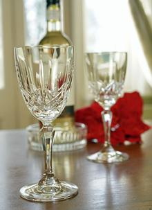 Waterford Crystal Marquis Naden Wine Set Of 2