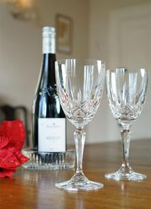 Waterford Crystal Marquis Naden Goblet Set of 2