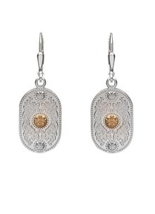 Sterling Silver Arda Drop Earrings