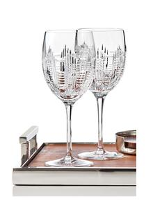 Waterford Crystal Dungarvan Goblet Pair