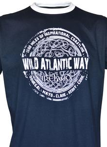 Wild Atlantic Way Navy T-Shirt