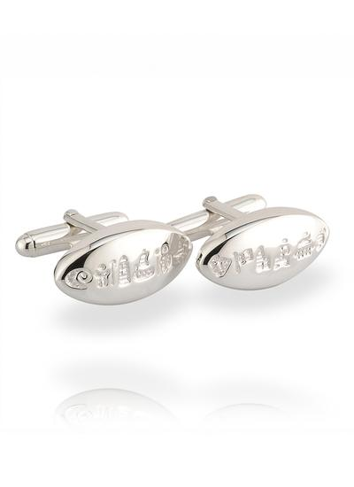 Sterling Silver History of Ireland Cufflinks
