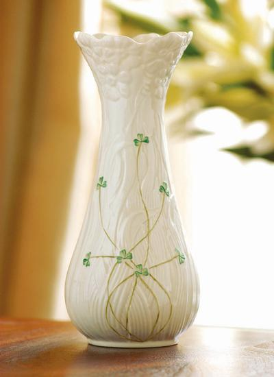 Belleek Daisy Tall Vase