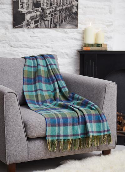 40 Shades of Ireland Lambswool Throw