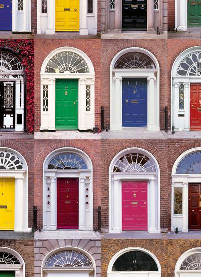 Doors of Dublin Placemats