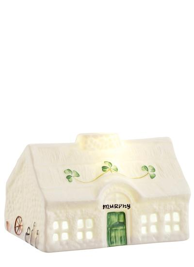 Personalized Blarney Cottage LED Votive
