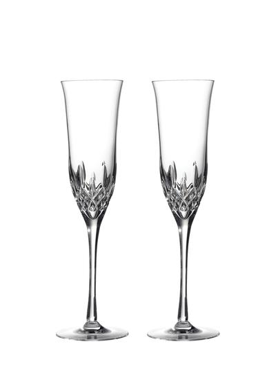 Waterford Crystal Lismore Essence Flute Pair