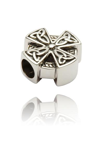Sterling Silver Celtic Cross Bead