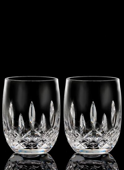 Waterford Crystal Lismore Connoisseur Rounded 7oz Tumbler Pair