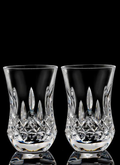 Waterford Crystal Lismore Connoisseur Flared 7oz Tumbler Pair
