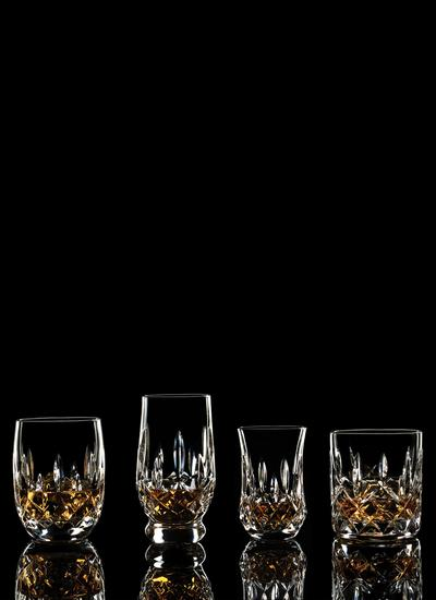Waterford Crystal Lismore Connoisseur Tumbler Mixed Set of 4