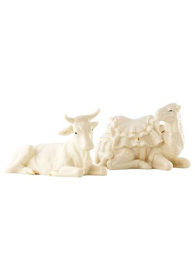 Manger Ox And Camel Set