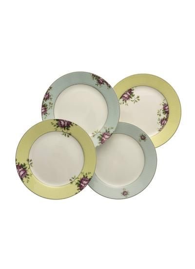 Archive Rose Plates Set Of 4