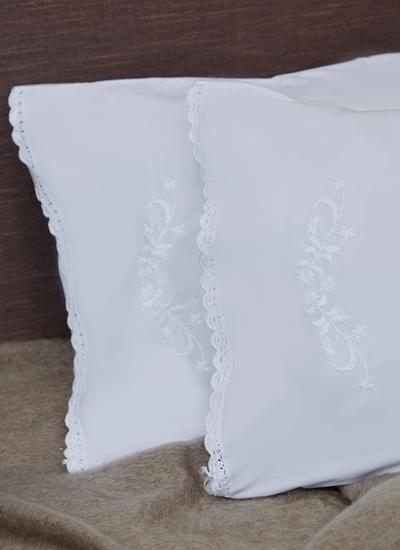 Blarney Embroidered Housewife Pillowcases Set of 2