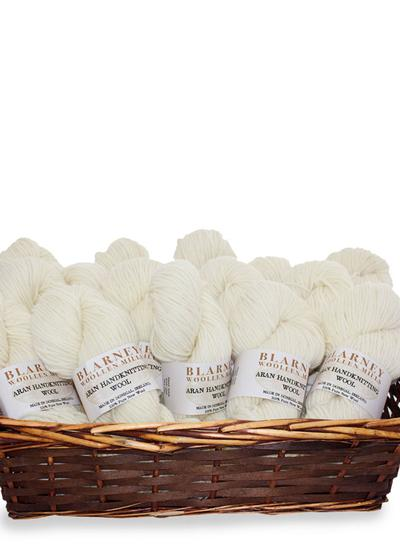Aran Handknitting Wool Natural Pack Of 12