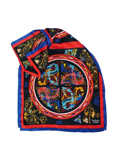 Book of Kells Long Silk Scarf