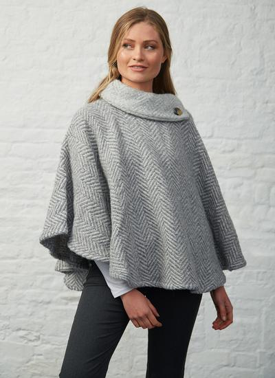 Laura Wool Cape