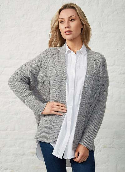 Brome Batwing Diamond Cardigan