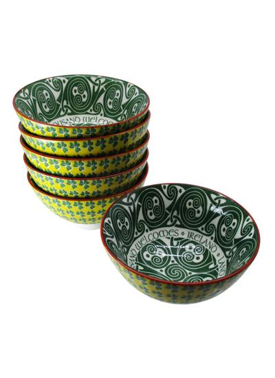 Hundred Thousand Welcomes Bowls Set of 6