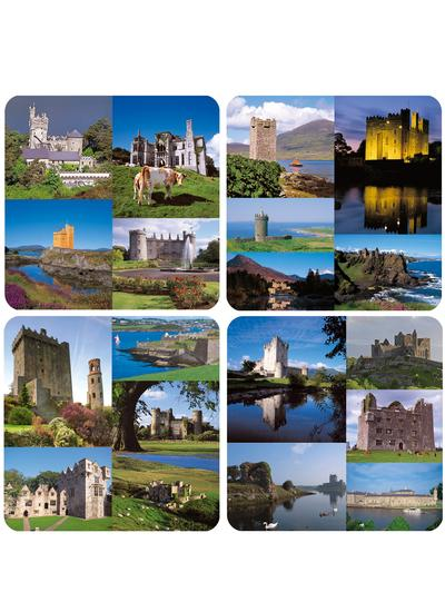 Irish Castles Coasters Set of 4