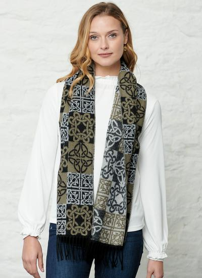Celtic Patchwork Scarf
