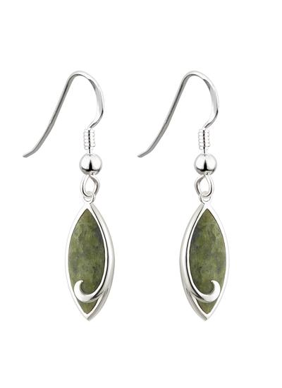 Connemara Marble Drop Earrings