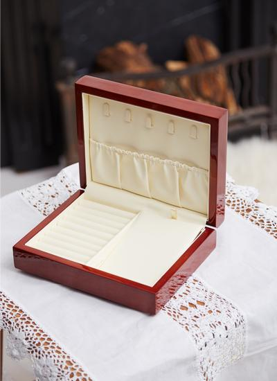 Connemara Marble Cherrywood Jewelry Box