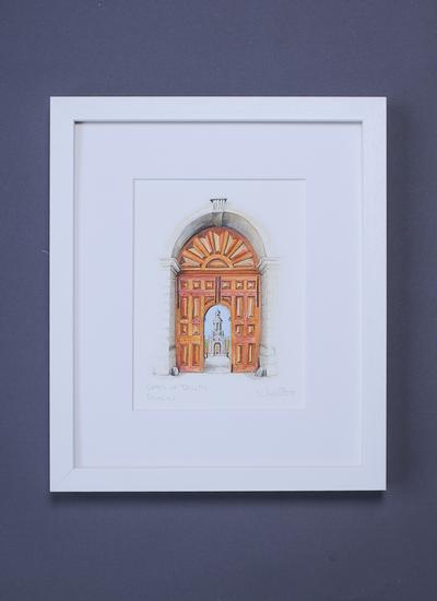 Trinity Gates Framed Art