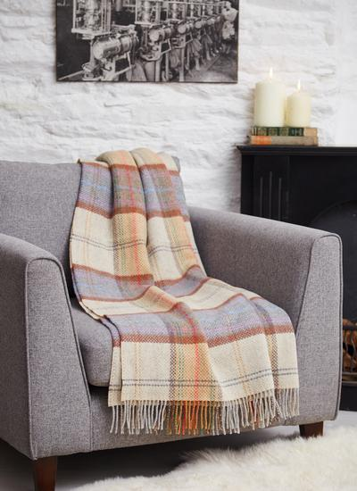 Country Chic Wool Cashmere Throw