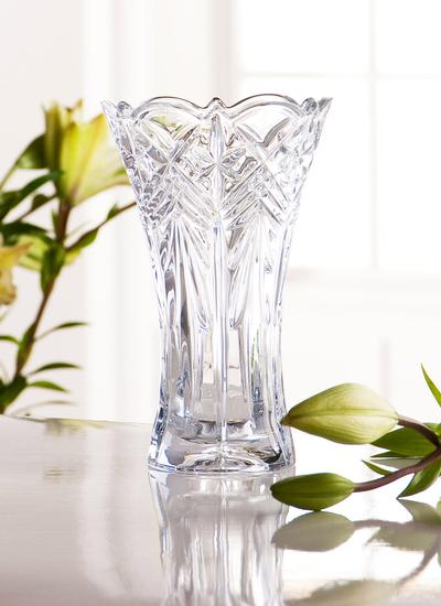 Galway Crystal Symphony 8'' Vase