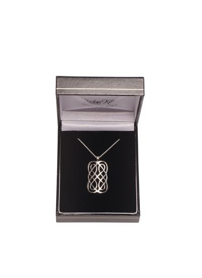 Rectangular Celtic Knot Pendant