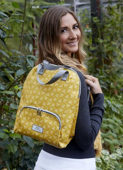 Dandelion Oil Cloth Backpack