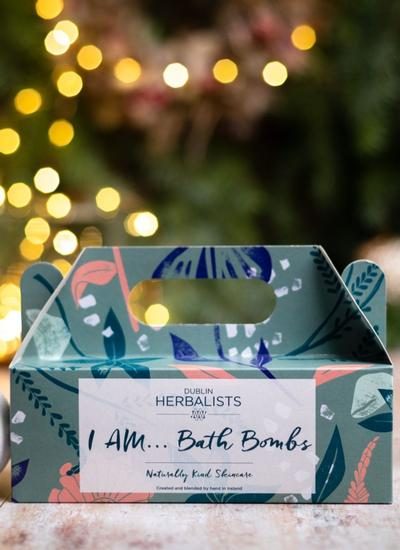 Dublin Herbalists I Am... Bath Bombs 3pk