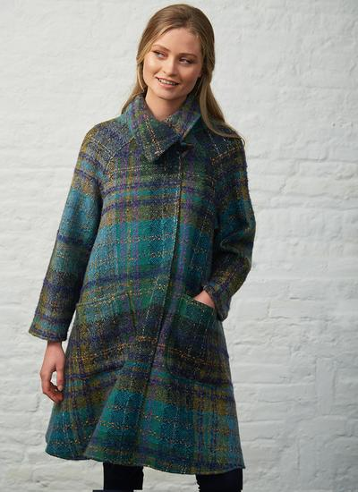 Eimear Wool Swing Coat