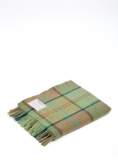 Emerald Isle Lambswool Throw