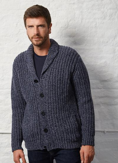 Fisherman Chunky Ribbed Cardigan